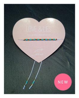Die neuen LOVE & LIES Summer Specials -  Türkis-Stripes