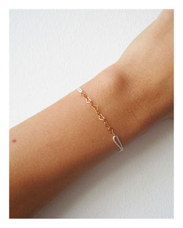 Armband Love Offwhite