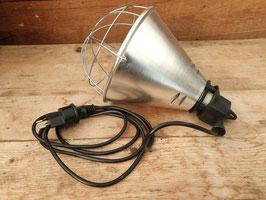 Wärmelampenhalterung mit Schutzkorb bis 250W