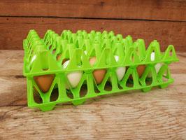 Kunststoffhöcker für 30 Hühnereier