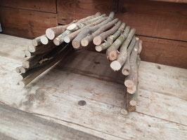biegbarer Holztunnel XL