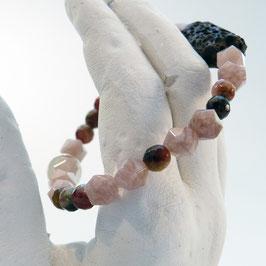 Achat-Armband mit Lava - 1