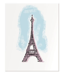 "Eiffel Tower 11x14"" print"