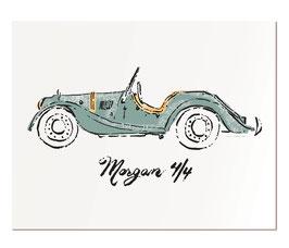 """Morgan 4/4 11x14"""" print"""