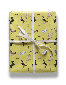 buddy in yellow - gift wrap