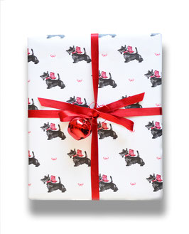 scotties- gift wrap