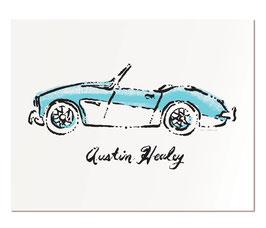 "Austin Healey   11x14"" print"