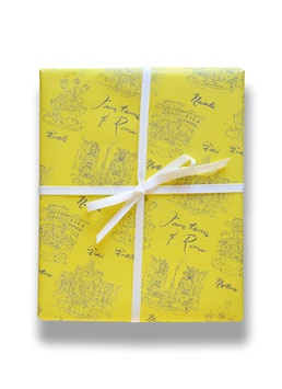 fountains of rome - gift wrap