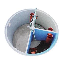 Belüftetes Wirbel-/Schwebebett BIO CLEANER 4 EW