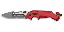 Rescue Messer K25 in rot mit Titanbeschichteter Edelstahlklinge