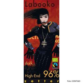 Bio-Schokolade 96% von zotter - Labooko High-End