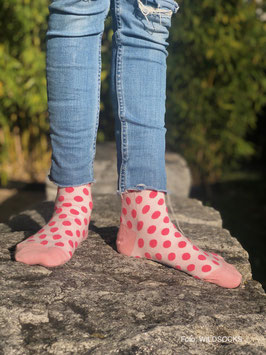 Socken von WILDSOCKS - Lovely Points Bio-Baumwolle