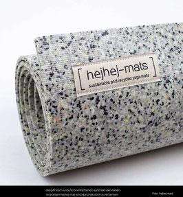 Yogamatte hejhej-mats (5 mm, 186 cm), verschiedene Farben