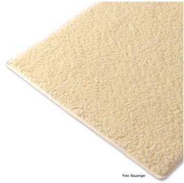 Yogamatte von Bausinger - Premium Bio Schurwolle (20 mm, 200 cm), optional mit Bindeband
