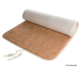 Yogamatte von Bausinger - Kontrast (umsäumt) Schurwolle (20 mm, 200 cm)