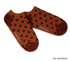 Sneaker-Socken von WILDSOCKS - Trusty Points Bio-Baumwolle