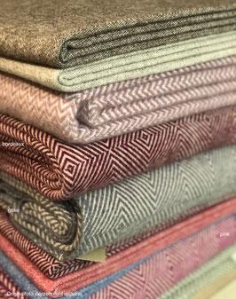 Wolldecke von ECOLÃ - 240x190 cm 100% Schurwolle (New Wool)