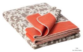 Decke RIKKA 150x200 cm 100% Bio-Baumwolle, verschiedene Farben