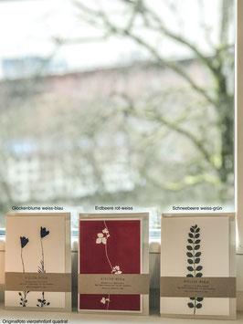 Klappkarten von Atelier Mirla - A6 mit Umschlag, verschiedene Motive