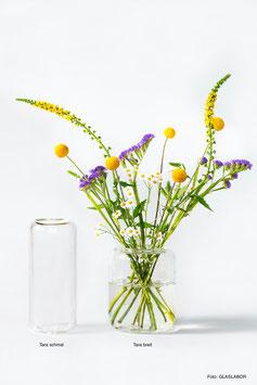 Vase von GLASLABOR - TARA schmal oder TARA breit