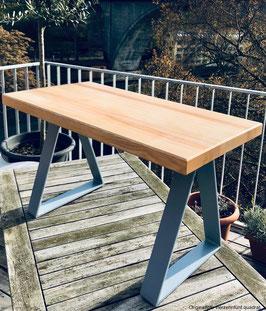 Bank/Tisch von der Holzmanufaktur Dittmer - Esche 40 x 60 Unikat