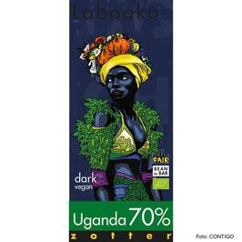 Bio-Schokolade 70% von Zotter - Labooko Uganda