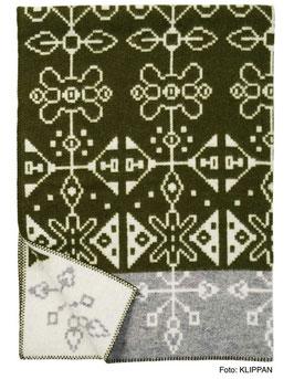Bio-Wolldecke von KLIPPAN - Tradition 130x180 cm 100% Lammwolle