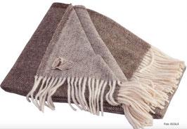 Wolldecke von ECOLÃ - 190x140 cm 100% Schurwolle (New Wool)