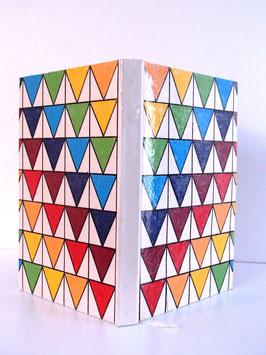 Carnet Scandinave - Carnet Banderole Triangles #1
