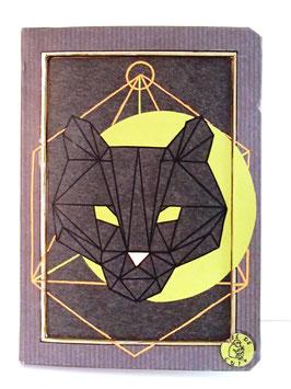Carnet Animaux - La Panthère Noire