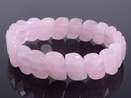 bracelet en quartz rose 1