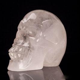 Crâne en cristal de roche de 749 gr
