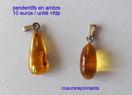 pendentif en ambre