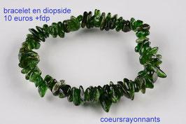 bracelet en diopside 2