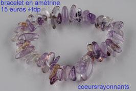 bracelet en amétrine