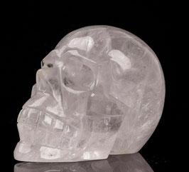Crâne en cristal de roche de 745 gr