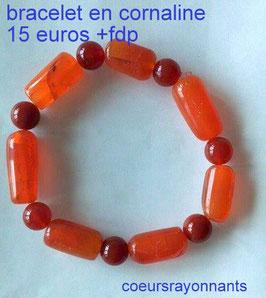 bracelet en cornaline 1