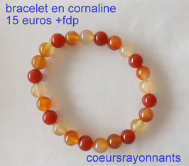 bracelet en cornaline 2