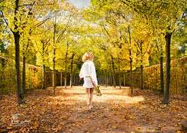 Schlosspark / Natur /Fashion Fotoshooting