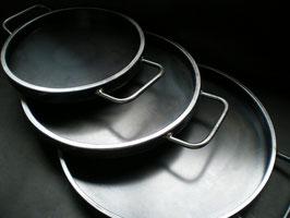 アツアツ鉄板丸型
