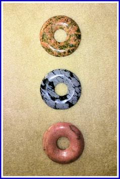 Halbedelstein-Donuts