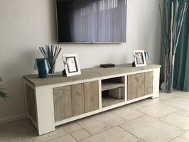 Steigerhouten tv meubel