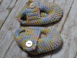 Süße Schühchen für Neugeborene