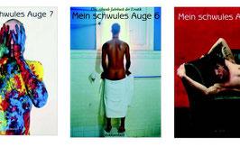 Schwules Auge-Paket 3 Ausgaben / special offer 3 volumes