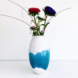 Vase WeiSS/Blau