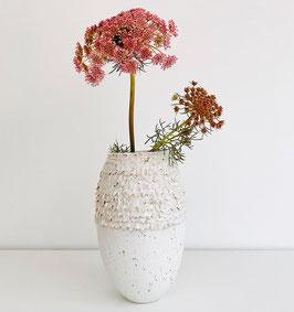 Vase Weiß