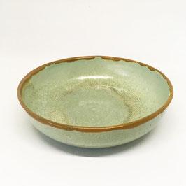 Schale Mint/Rotgold 18 cm