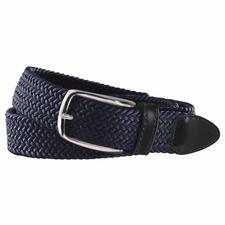 elastischer Textilgürtel blau