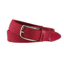 elastischer Textilgürtel rot