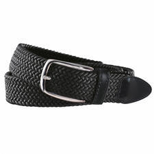 elastischer Textilgürtel schwarz